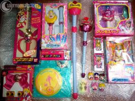 New Sailor Moon toys from Japan - May 2012 by onsenmochi