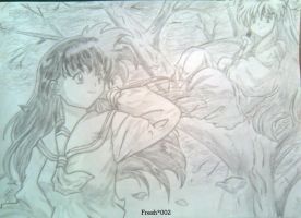 Inuyasha and Kagome by Fresh002