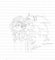Sonic n Sally-Happy ever after by evolvd-studios