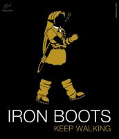 Iron Boots (Keep Walking) by maiconmcn
