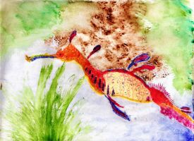 Sea Dragon. by PlutoHasCows