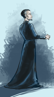 Discworld: Vetinari by graffitihead