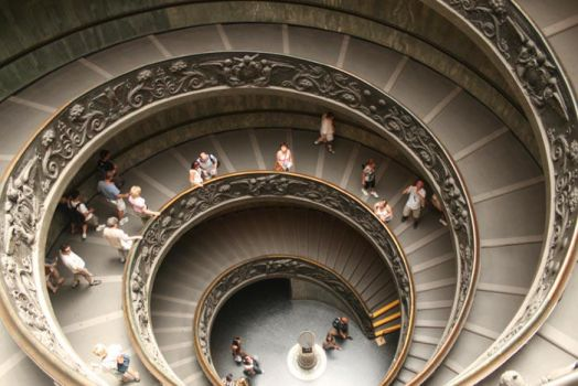 Stairs of Vatican II by no0ra