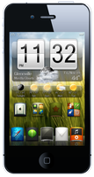 iPhone 4, 3GS HTC Widget by bblake