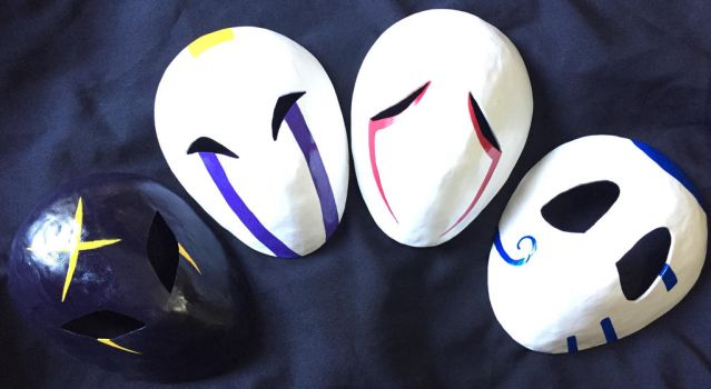 Masked Beast Masks by Metal-CosxArt