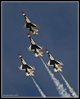 Thunderbirds 2011 V by AirshowDave