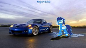 Soarin High's Chevrolet Corvette ZR1 by NSDrift