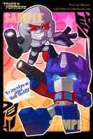 TF : Meg n OP Postcard by Beriuos