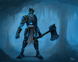 Ice guardian by mykmykmyk
