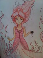 Flame Princess Colored~ by Momokero