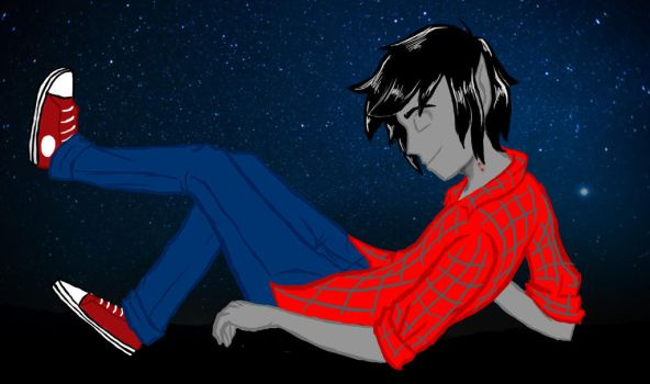 Marshall Lee by RianneGe