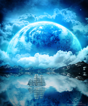 Blue Planet by TopMystic