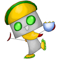 El Tacobot by 4ever-the-animator