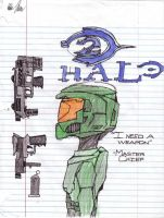 Master Chief from Halo 2 by kenkai