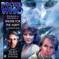 Doctor Who-Winter for the Adept cover by jimg1972