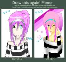 Draw This Again Meme by hazimah552