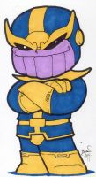 Chibi-Thanos 2. by hedbonstudios