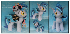 Commission: Star Struck Custom OC Plush by Nazegoreng