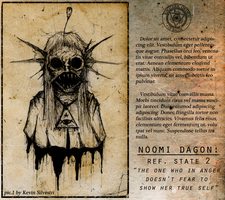Noomi Dagon - State 2 by dustyportrait