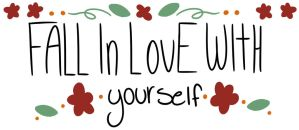 Fall in love with yourself- society6 by Softiie