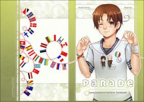 PARADE - APH Fanbook Cover by alatherna