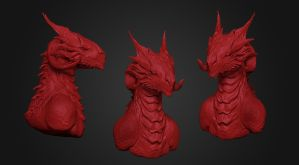 Wip - First Dragon by synthesys