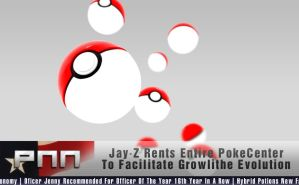 'Jay-Z Rents Entire PokeCenter..' by Snakesan