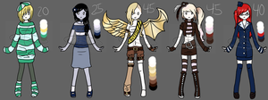 :CLOSED: Adoptables 4 by naoyi