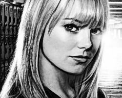 The Amazing Spider-Man. Wallpaper. Gwen Stacy by StalkerAE