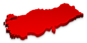 Turkey 3D Map by mesmes