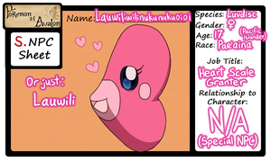 Lauwili the Luvdisc ::Official PoA NPC:: by Galactic-Rainbow