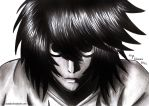 L - Death Note by Orander