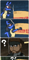 Taking out the trash by Rupeeclock