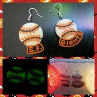 Giants Limited Edition Earrings by LimitlessDreamer