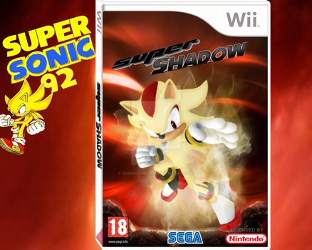 Super Shadow Wii Box Art by SuperSonic92