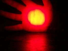 Through My Palm A Glow Emits by Ark-of-Menphis