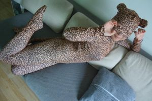 Naughty leopard by mysexyzentai