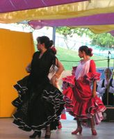 more flamenco dancers... by frizzyblue-stock