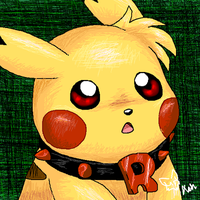 Ash pikachu new color stile by timmy-gost