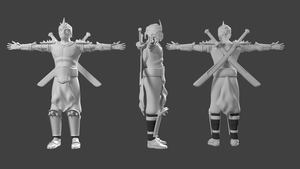 Shen T-pose by Conviley