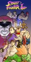 Street Fighter II turbo by narutowannabe
