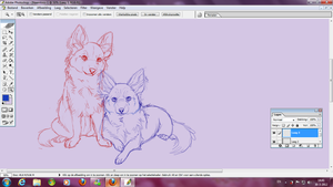 Chihuahua wip by Plasticss
