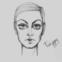 Twiggy. by just1dreamer