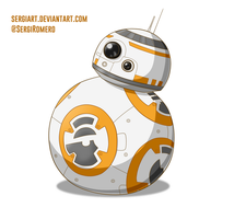 Day 4 - BB-8 by SergiART