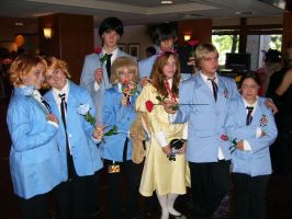 Ouran Host Club at NDK 08 by LxTrix