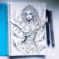 Instaart - Sarah Kerrigan (NSFW on Patreon) by Candra