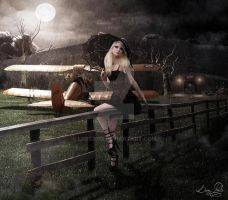 Gothic PinUp by LPBS2012