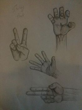 Sketchy hands! by TheCondemnedArtist