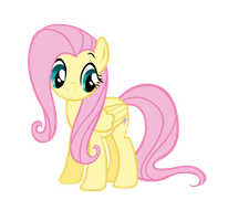 Fluttershy is shy by dbluebird89d