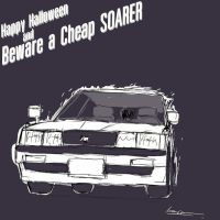 Happy Halloween and White Soarer by ngarage